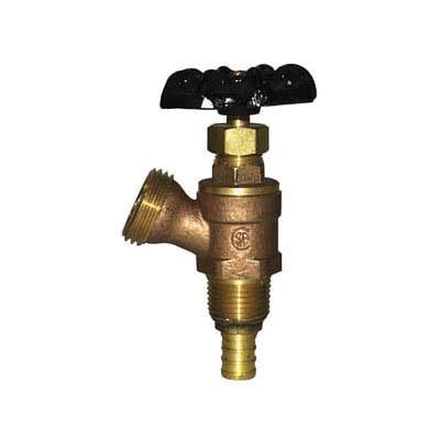 LEGEND 107-159NL S-521PNL Boiler Drain Valve, 1/2 in Nominal, PEX End Style, 125 psi Pressure, Brass Body, Import