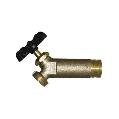 LEGEND 107-192 T-539 Heater Drain Valve, 3/4 in Nominal, MNPT End Style, 125 psi Pressure, Brass Body, Import