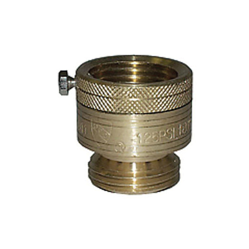 LEGEND 107-194NL T-553NL Vacuum Breaker, 3/4 in Nominal, Female Garden Hose Thread x Male Garden Hose Thread End Style, Brass Body, Import