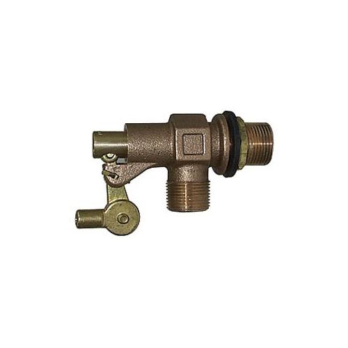 LEGEND 111-236 T-31 Mechanical Float Valve, 1-1/4 in Nominal, FNPT x Plain End Style, 125 psi Pressure, Bronze Rod, Import