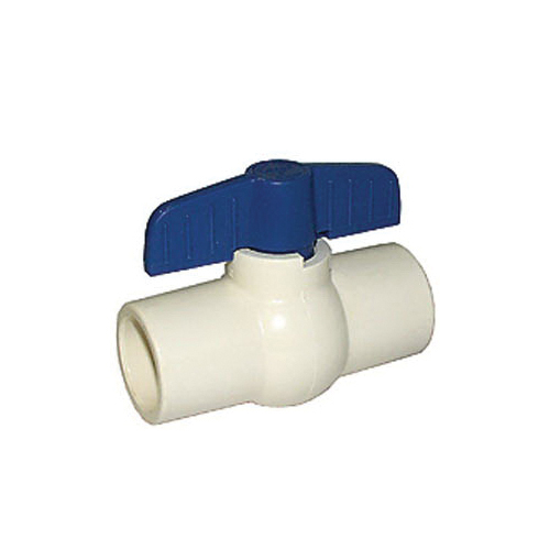 LEGEND 202-404 S-605 Compact Miniature Ball Valve, 3/4 in Nominal, Solvent End Style, CPVC Body, Full Port, EPDM Softgoods, Import
