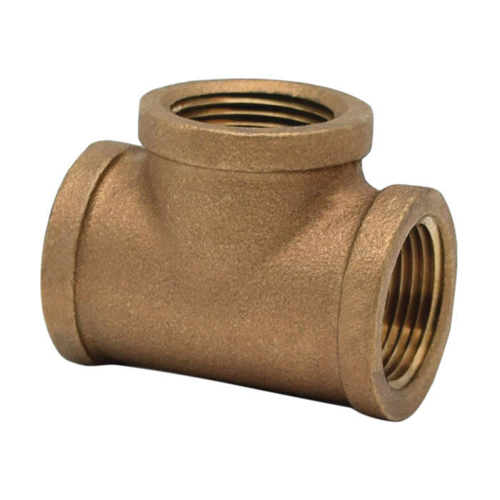 LEGEND 310-104NL Pipe Tee, 3/4 in, FNPT, 125 lb, Bronze, Import