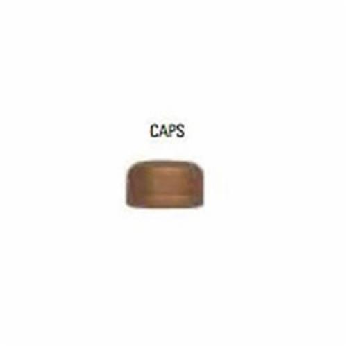 LEGEND 310-123NL Pipe Cap, 1/2 in, FNPT, 125 lb, Bronze, Import