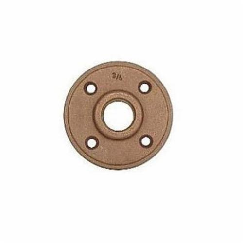 LEGEND 310-249NL Companion Flange, 2-1/2 in Nominal, Bronze, Threaded Connection, 150 lb, Import