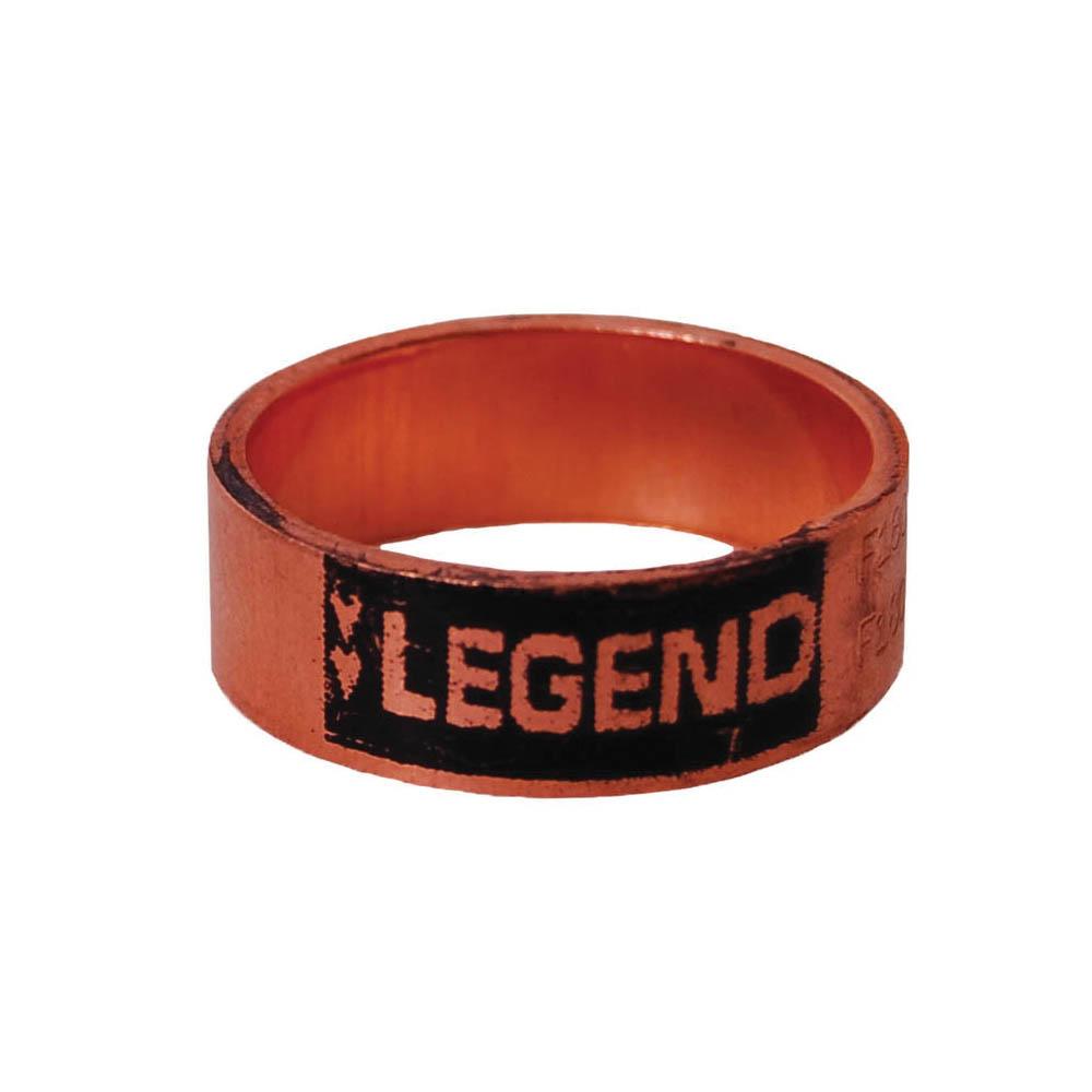 LEGEND 460-904 Crimp Ring, 3/4 in Nominal, Copper, Import