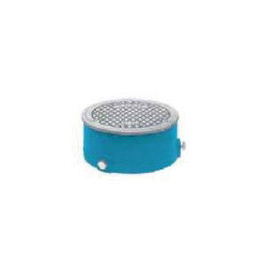Tech Specialties™ Frank Pattern™ 4440 Flush Floor Cleanout Cover Assembly, 4-1/4 in Outlet, Cast Iron