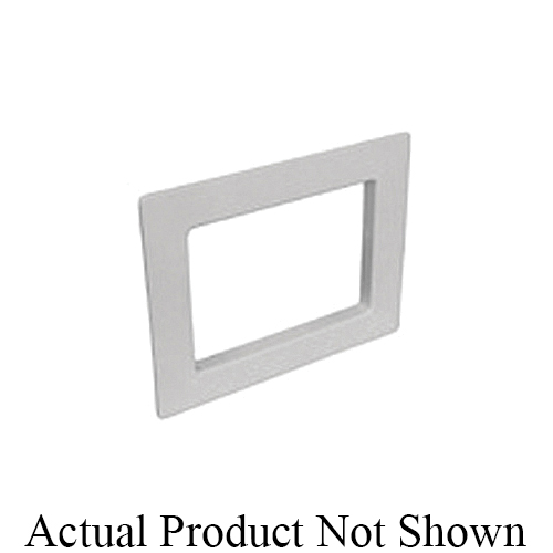 Specialty Products™ OB-901 Replacement Faceplate, For Use With Switch Hitter® Washing Machine Outlet Box, High Impact Plastic, White