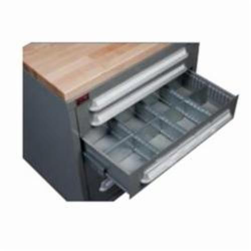 LYON® 240435 Quarter Tray, 1-1/4 in H x 12-1/2 in W x 12-1/2 in D, (35) 2 x 1-3/8 in Compartment, Plastic, Yellow
