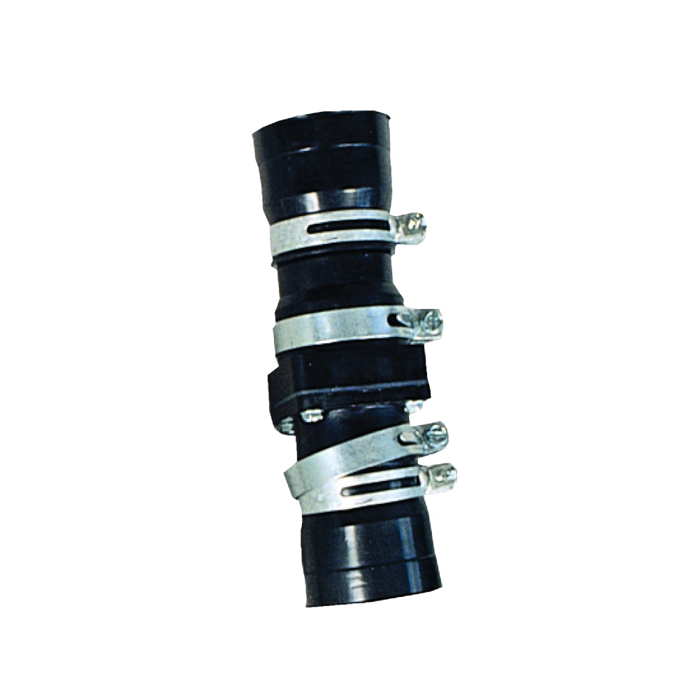 Liberty Pumps® CV200 Economy Check Valve With Hose Clamps, 2 in, MNPT, ABS Body, Domestic