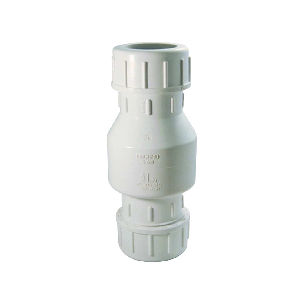 Liberty Pumps® CV200C Compression Check Valve, 2 in, Hose, PVC Body, Domestic