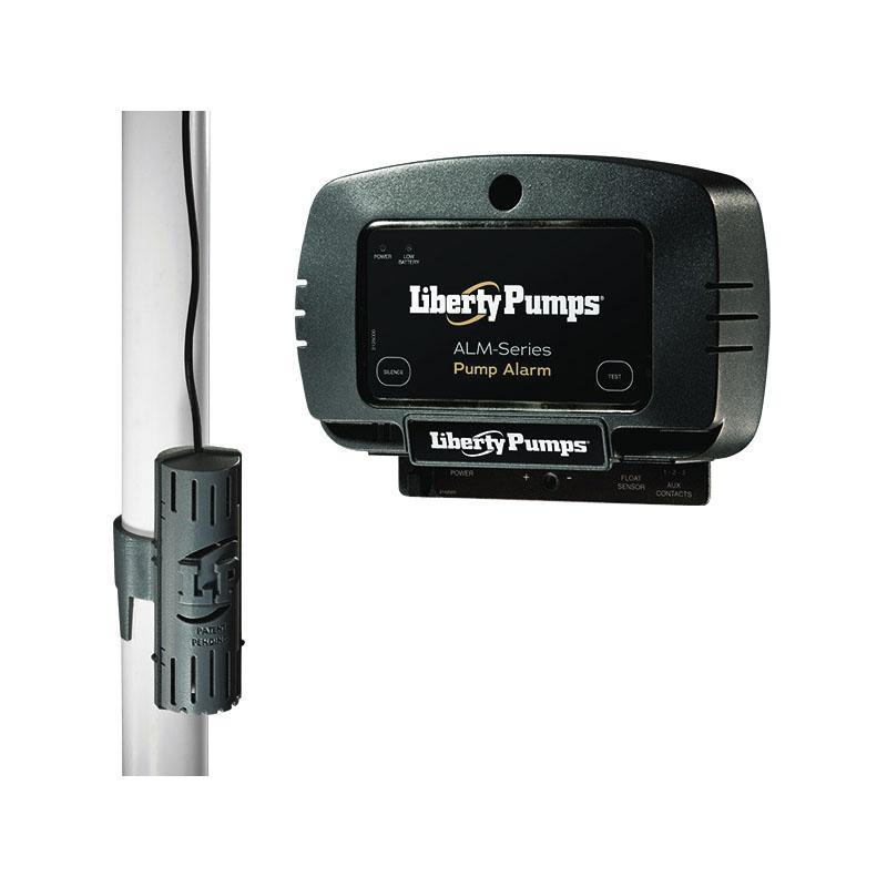 Liberty Pumps® ALM-P1 Alarm, 86 dB Sound, Test/Silence Switch, Audible/Visual, 115 VAC, Domestic