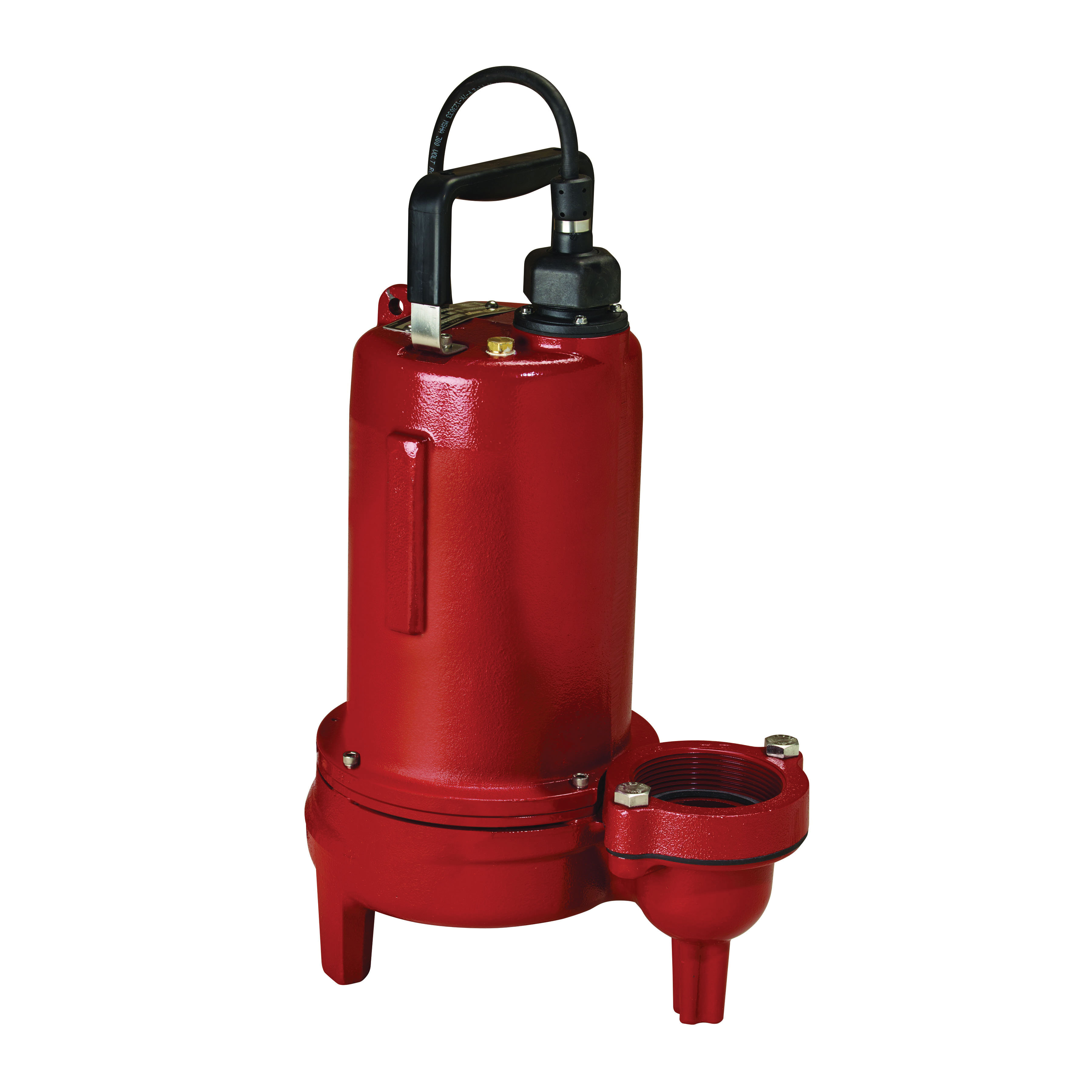 Liberty Pumps® LE72M2-2 Manual Submersible Sewage Pump, 3/4 hp, 208 to 230 VAC, 2 in Flanged Outlet, Cast Iron, 6 A Full Load/13.5 A Locked Rotor, 1 ph