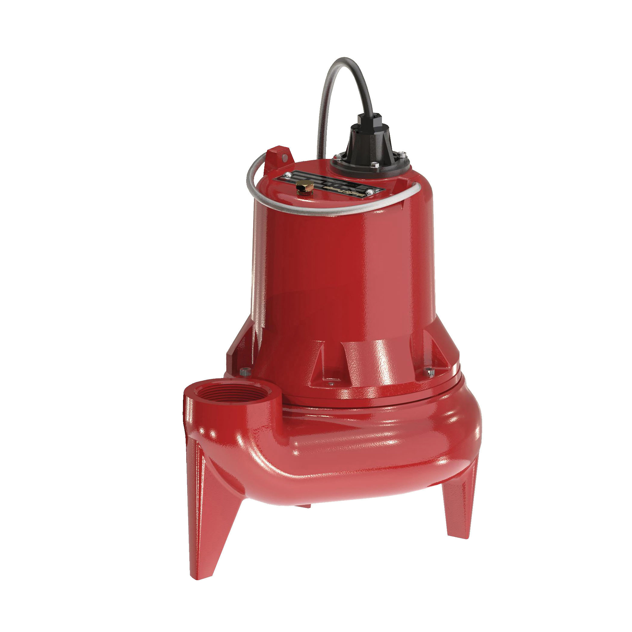 Liberty Pumps® LE51M-2 Submersible Sewage Pump, 1/2 hp, 115 VAC, 2 in FNPT Outlet, Cast Iron, 12 A Full Load/22.5 A Locked Rotor, 1 ph