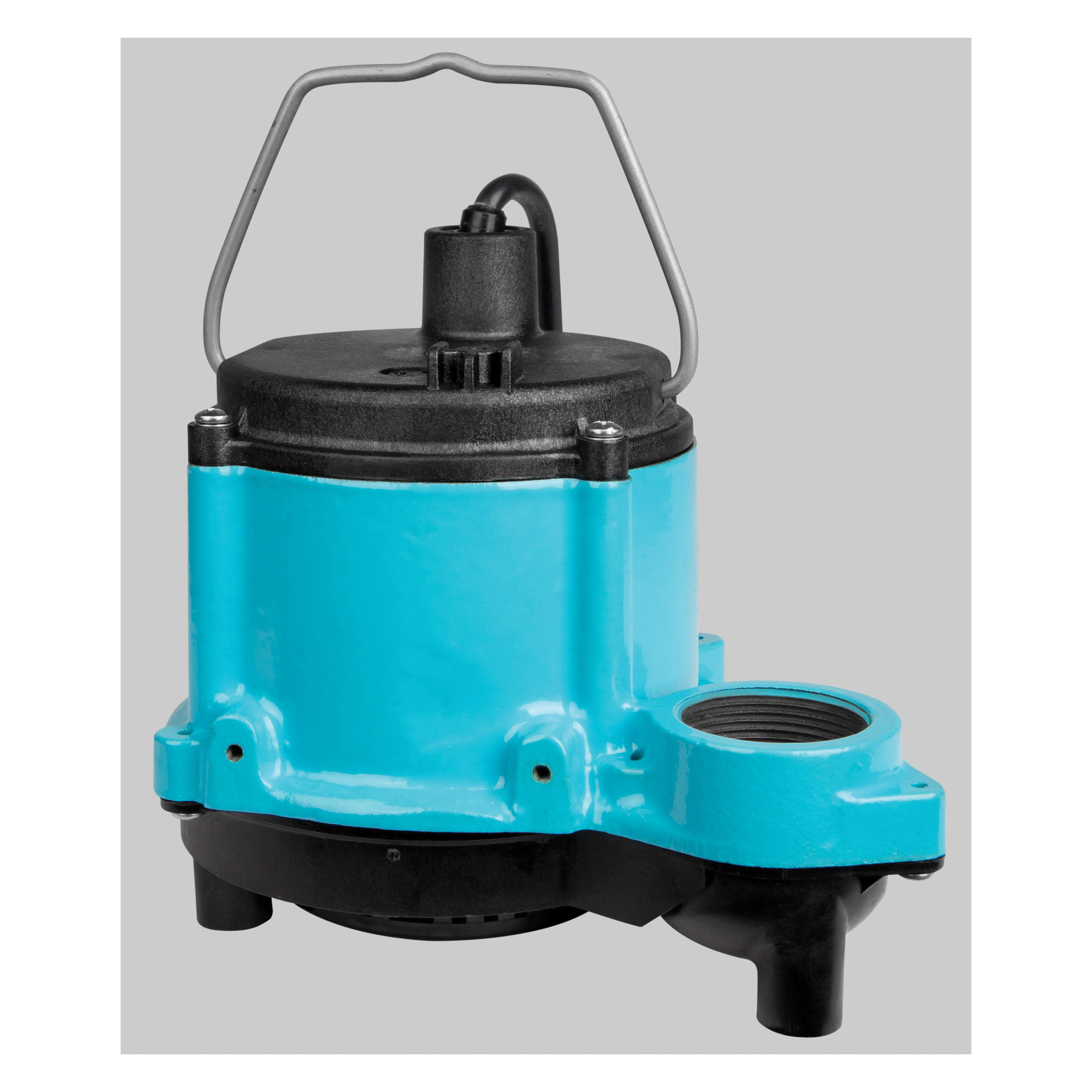 Little Giant® 506271 6 Series 1-Phase Submersible Sump Pump, 46 gpm Flow Rate, 1-1/2 in FNPT Outlet, 1/3 hp, Import