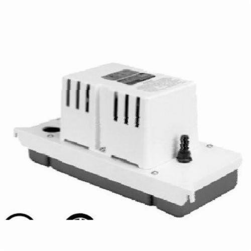 Little Giant® 554200 VCC-20ULS Automatic Condensate Removal Pump, 80 gph Flow Rate, 20 ft Shutoff Head, 93 W Power Rating, Import
