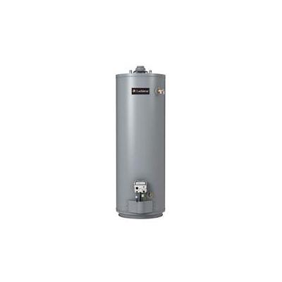 Lochinvar® GSN030 35 Energy Saver Gas Water Heater, 35500 Btu/hr Heating, 30 gal Tank, Natural Gas Fuel, 36 gph at 100 deg F Rise Recovery, Short