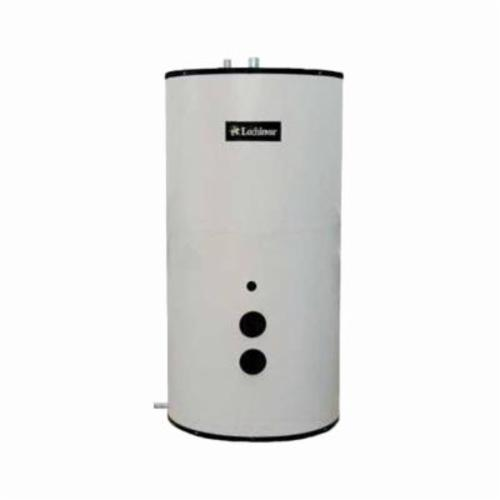 Lochinvar® Lock-Temp® RJS120 Round Jacketed Vertical Storage Tank, 119 ga Tank, 28 in Dia, 2-1/2 in Inlet x 2 in Outlet