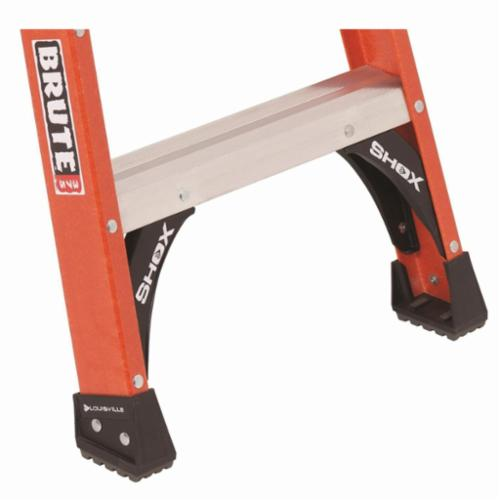 Louisville® FM1512 FM1500 Type IA Twin Step Ladder, 12 ft H Ladder, 300 lb Load, 11 Steps, Fiberglass