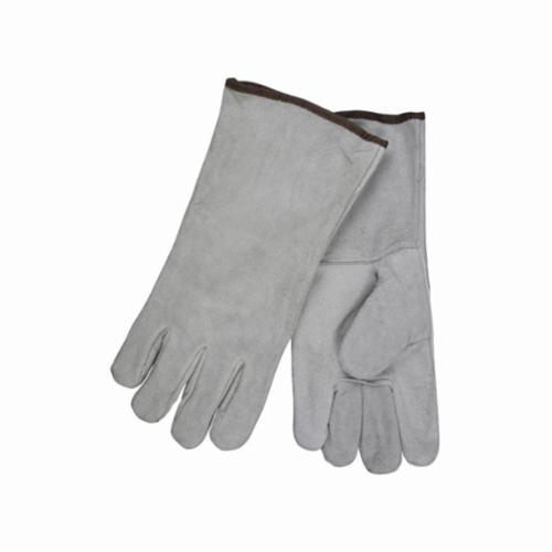 MCR Safety 3250 L Cowhide Drivers Gloves, Large, Leather, Beige, Slip-On - Open Cuff
