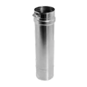 DuraVent® FasNSeal® FSVL604 Single Wall Special Gas Vent Pipe, Stainless Steel, 4 in Dia x 6 in L