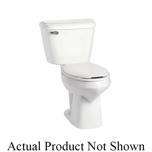 Mansfield® SmartHeight™ 139NS WH Toilet Bowl Only, White, Elongated, 10 in Rough-In, 2 in Trapway, Alto™