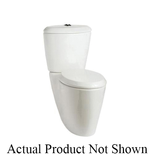 Mansfield® SmartClose™ 533697 SB1500 Toilet Seat, Enso™, Elongated Bowl, Closed Front, Plastic, White