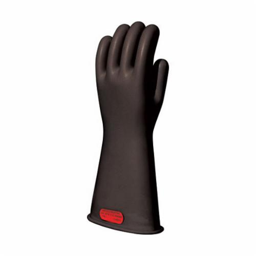 Marigold® 9999243 Insulating Electrical Gloves, SZ 9, Natural Rubber, Black, 11 in L, ASTM Class: Class 0, 1000 VAC/1500 VDC Max Use Voltage