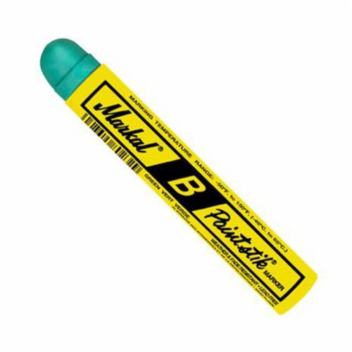 Markal® 080224 B® Paintstik® Solid Paint Crayon, 11/16 in Round Tip, Orange