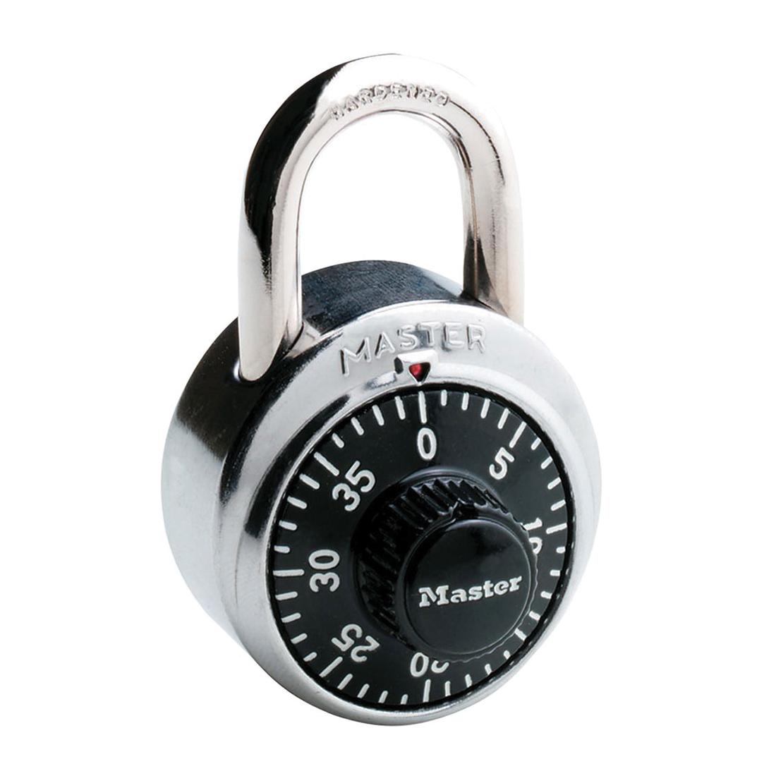 Master Lock® 140KAD Safety Padlock, Alike Key, 1/4 in Shackle, Solid Brass Body, 4-Pin Tumbler Locking