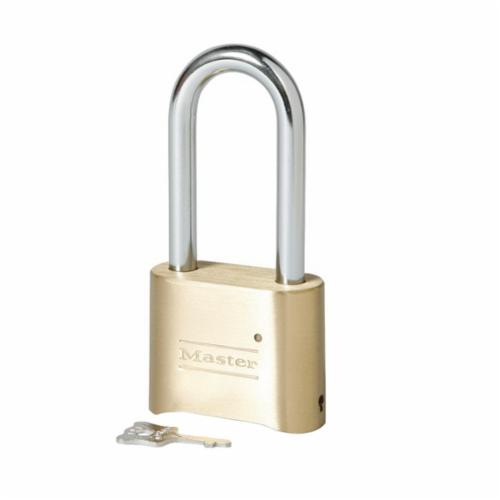 Master Lock® 175DWD Safety Padlock, 5/16 in Shackle