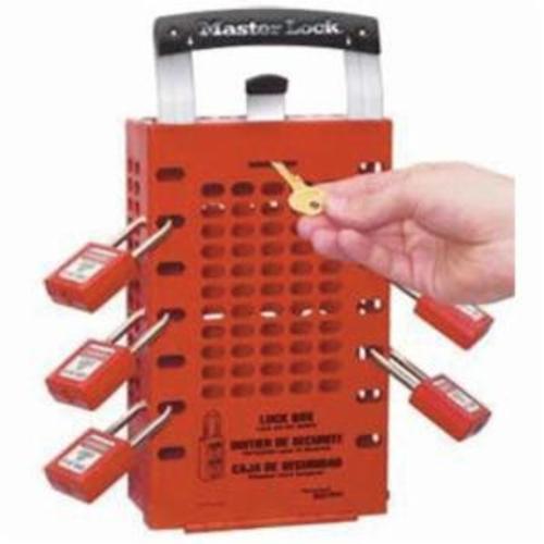 Master Lock® 1484BP410 Zenex™ Padlock Station, 22 in H x 22 in W x 1-3/4 in D, Wall Mounting