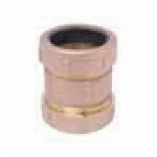 Matco-Norca™ 450T03LF 450TLLF Short Pattern Compression Coupling, 1/2 x 3/4 in Nominal, IPS x Slip Joint End Style, Brass, Import