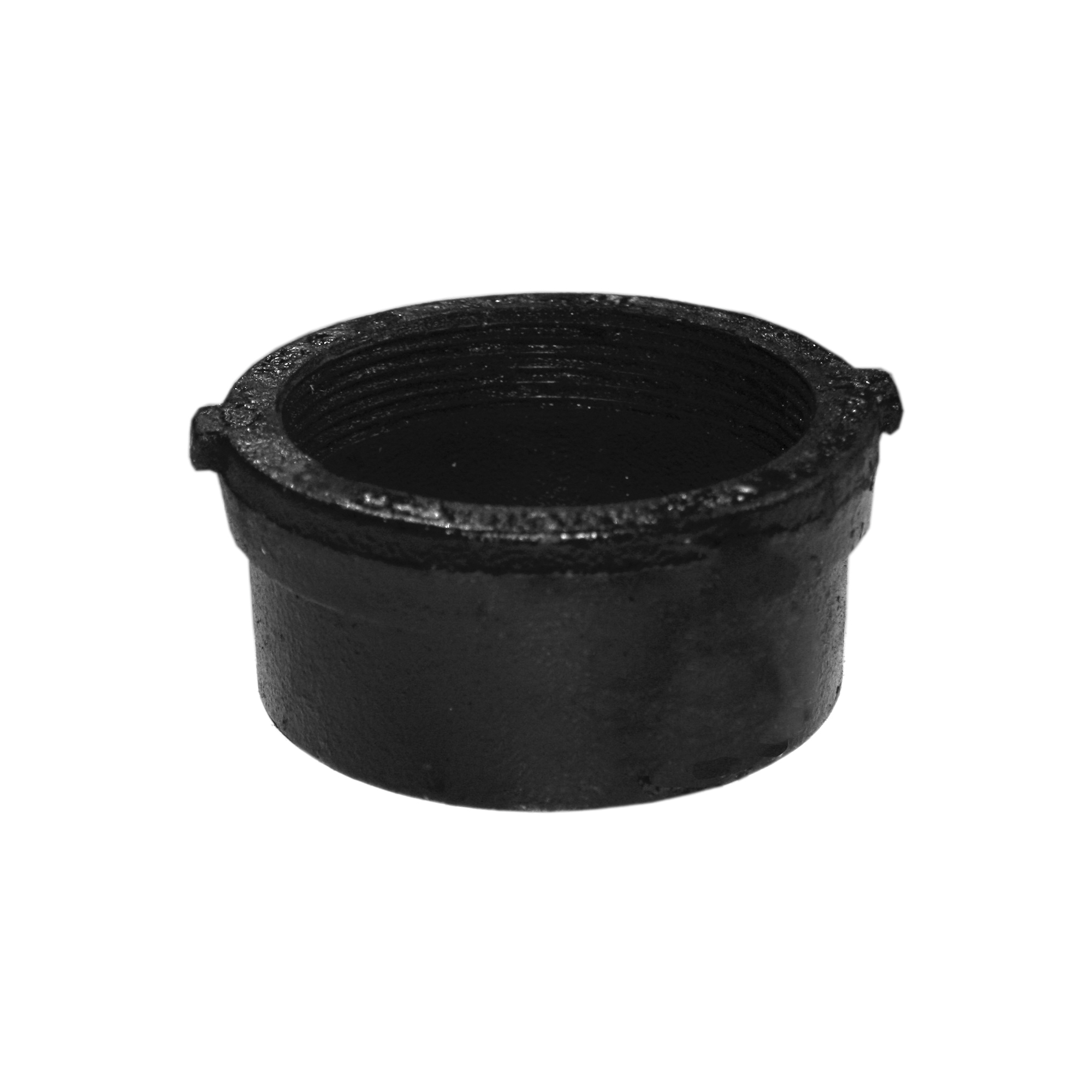 Tyler Pipe 009979 No-Hub Cleanout Ferrule, 2 in, Cast Iron, Domestic