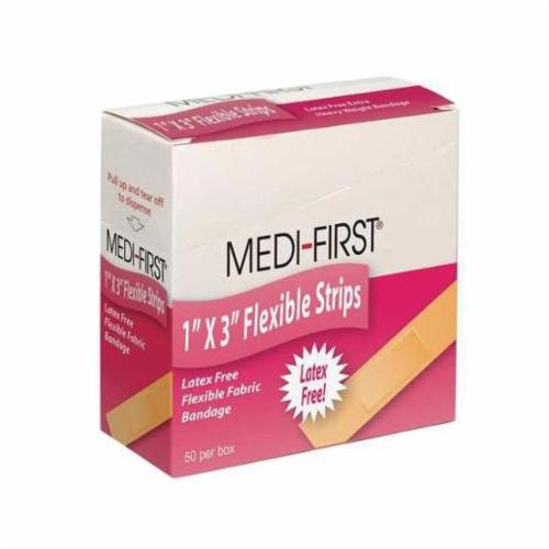 Medique® 61678 Flexible Knuckle Bandage, Fabric, Beige