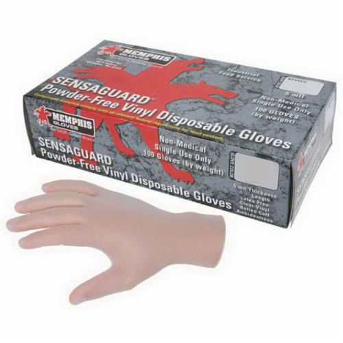 MCR Safety 4600 Protective Gloves, XL, Leather, Blue, Jersey, Gauntlet Cuff, 13-1/2 in L, 1.1 to 1.6 mm Glove Material Thickness