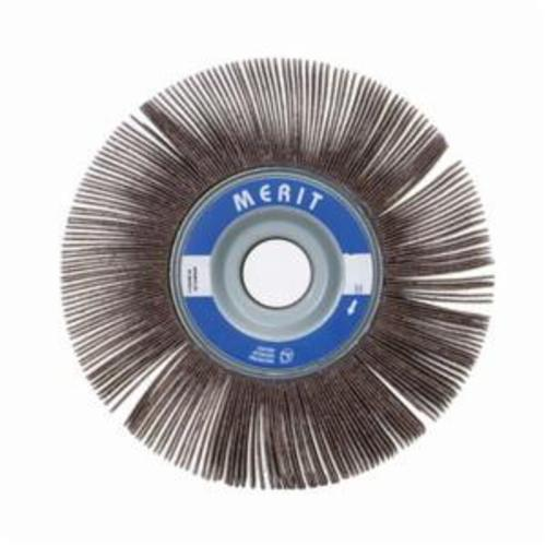 Merit® Grind-O-Flex™ 08834122014 XX-3515 High Performance Unmounted Coated Flap Wheel, 3-1/2 in Dia, 1-1/2 in W Face, P80 Grit, Medium Grade, Aluminum Oxide Abrasive