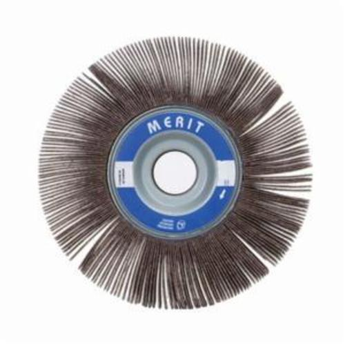 Merit® Grind-O-Flex™ 08834122040 XX-4010 High Performance Unmounted Coated Flap Wheel, 4 in Dia, 1 in W Face, P320 Grit, Extra Fine Grade, Aluminum Oxide Abrasive