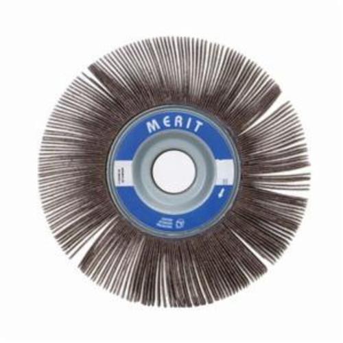 Merit® Grind-O-Flex™ 08834123016 XX-061 High Performance Unmounted Coated Flap Wheel, 6 in Dia, 1 in W Face, P180 Grit, Fine Grade, Aluminum Oxide Abrasive