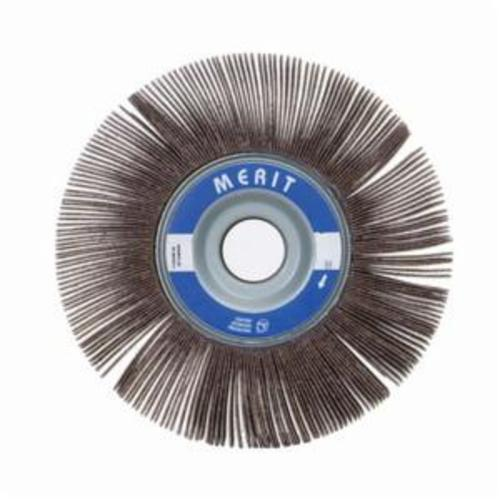 Merit® Grind-O-Flex™ 08834123018 XX-061 High Performance Unmounted Coated Flap Wheel, 6 in Dia, 1 in W Face, P320 Grit, Extra Fine Grade, Aluminum Oxide Abrasive