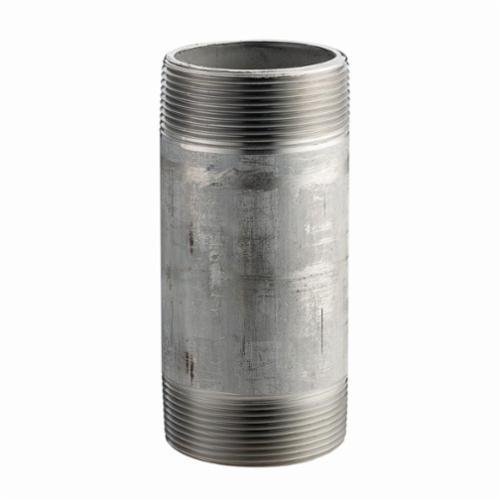 Merit Brass 4012-200 Pipe Nipple, 3/4 in x 2 in L MNPT, 304L Stainless Steel, SCH 40/STD, Welded, Domestic