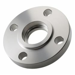 Merit Brass A453L-12 Raised Face Socket Weld Flange, 3/4 in, 304/304L Stainless Steel, 150 lb, SCH 40/STD Bore, Import