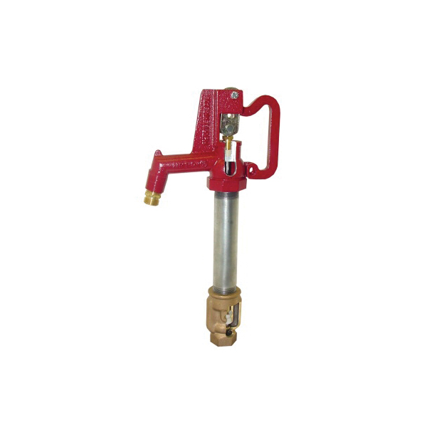 Merrill™ Any Flow® AF101 Hi-Capacity Frost-Proof Yard Hydrant, 1 x 3/4 in, NPT x Hose Threaded, 1 ft Bury, 45-1/2 in OAL, Lever Handle Shut-Off, Domestic