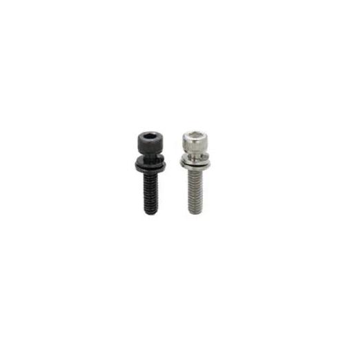 MiSUMi CBS5-12 Low Head Standard Cap Screw, M5x0.8, 1045 Carbon Steel, Black Oxide
