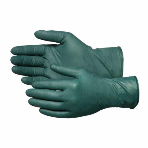 Microflex® BD-1005-NPF Black Dragon® ZERO Non-Sterile Single Use Disposable Gloves, 2XL, Nitrile, Black, 9.6 in L, Non-Powdered, Textured Finger, 3.5 mil THK, Application Type: Exam/Medical Grade, Ambidextrous Hand