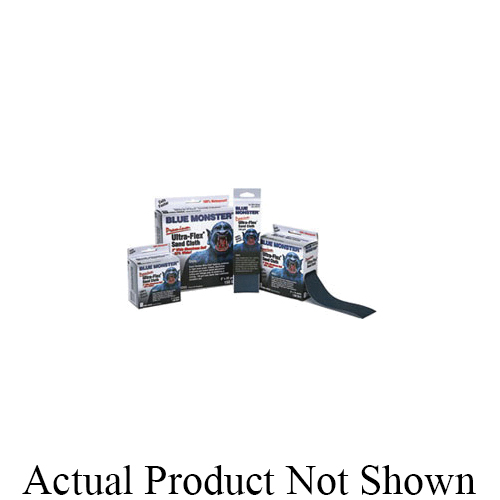 Cleanfit Blue Monster® Ultra-Flex® 70174 Premium Abrasive Cloth, 10 yd L x 2 in W, 150 Grit, Aluminum Oxide Abrasive