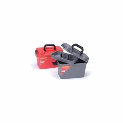 Cleanfit 75605 Heavy Duty Lockable Storage Box, 8 in H x 15 in W x 10 in D, ABS
