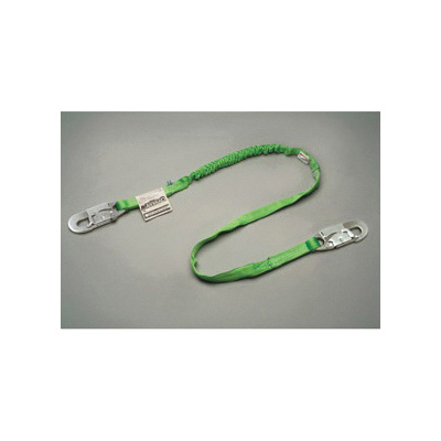 Miller® by Honeywell Manyard™ II 216MK/4FTBK Arc Rated Shock Absorbing Lanyard, 4 ft L, Kevlar® Line, 1 Legs, Snap Hook Harness Connection Hook, ANSI Specified, CSA Certified, OSHA Approved