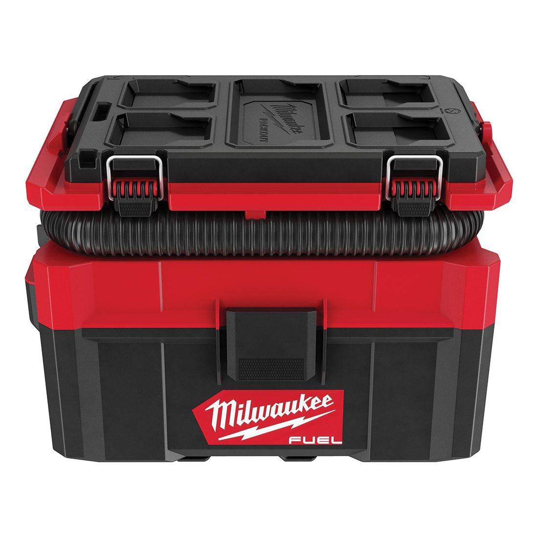 Milwaukee® 0970-20 M18™ FUEL™ PACKOUT™ Cordless Handheld Wet/Dry Vacuum Kit, 12 A, 2.5 gal Tank, 18 V, Polycarbonate Housing