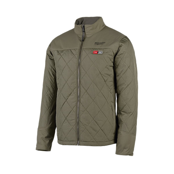 Milwaukee® M12™ 203B-21XL Insulated Heated Jacket Kit, XL, Black, Polyester/Brushed Tricot Lining, 44 to 46 in Chest, Resists: Water and Wind