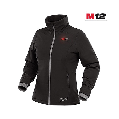 Milwaukee® M12™ Heated AXIS™ 203OG-21XL Insulated Heated Jacket Kit, XL, Olive Green, Brushed Tricot/Polyester, 44 to 46 in Chest, Resists: Water and Wind